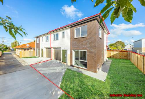 Papakura, Stunning New Townhouse with Spacious Easy Living, Property ID: 793665 | Barfoot & Thompson