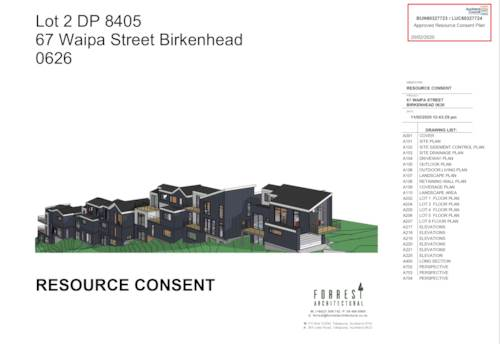 Birkenhead, RARE DEVELOPMENT OPPORTUNITY WITH RESOURCE CONSENT, Property ID: 795387 | Barfoot & Thompson