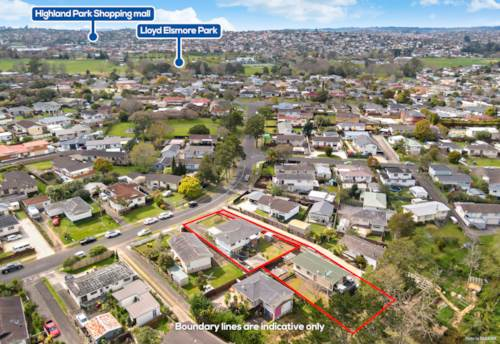 Pakuranga Heights, Auction brought forward-1607 sqm land with approved RC & BC, Property ID: 796656 | Barfoot & Thompson