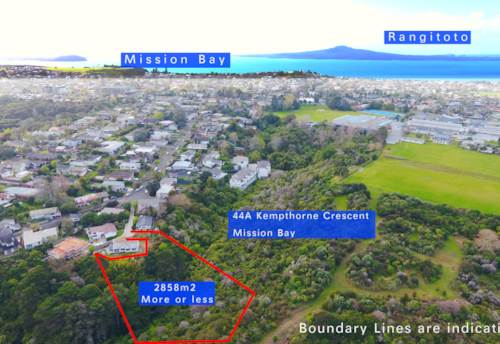 Mission Bay, 2858m2 Suburban Land in Mission Bay, Property ID: 797419 | Barfoot & Thompson