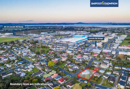 Henderson, 868m2 Corner Side Section Zoned Terrace Housing & Apartment, Property ID: 797872 | Barfoot & Thompson