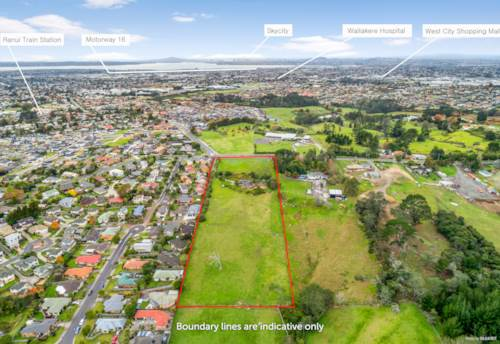 Ranui, West City Fringe,  20550M2 Plus One Level Brick & Tile, Property ID: 799523 | Barfoot & Thompson