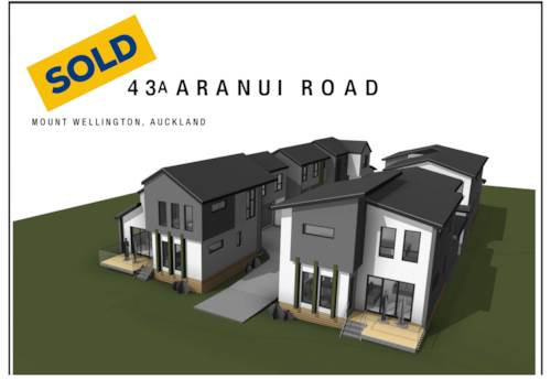 Mt Wellington, SOLD - Premium Brand New 4 Bedroom Standalone Home, Property ID: 799060   Barfoot & Thompson