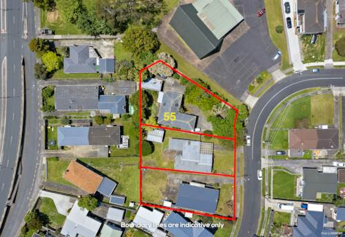 Pakuranga, 2218m² Terrace Housing and Apartment Zone, Property ID: 802000 | Barfoot & Thompson