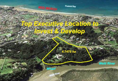 Red Beach, 4.7475HA WATERFRONT TITLE - LARGE LOT SUBDIVISION POTENTIAL, Property ID: 85121 | Barfoot & Thompson