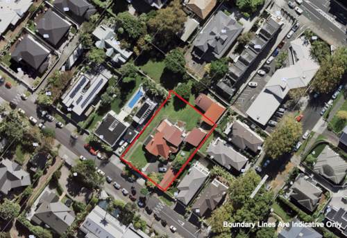 Remuera, PRIME DEVELOPMENT SITE 1397M2 + DGZ !, Property ID: 802700 | Barfoot & Thompson