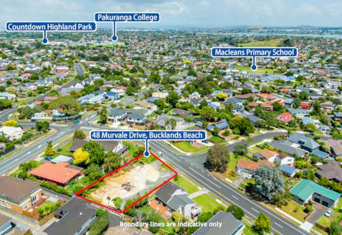 Bucklands Beach, 868sm Section with RC & BC for four Houses - Must be Sold, Property ID: 805637 | Barfoot & Thompson