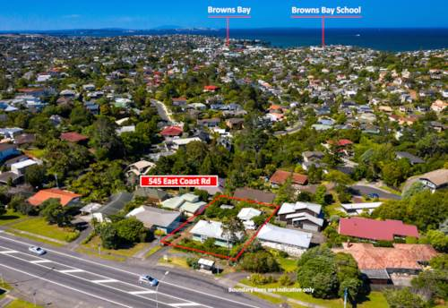 Browns Bay, Development Site with Massive Sea View, Property ID: 805787 | Barfoot & Thompson