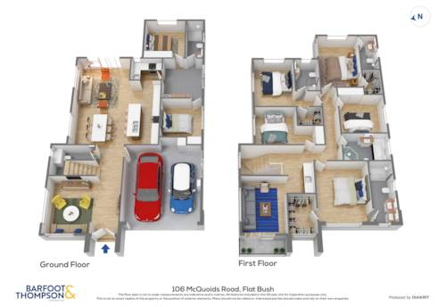Flat Bush, 5+2 with 2 legal kitchen - waiting for your finishing touch, Property ID: 806897 | Barfoot & Thompson