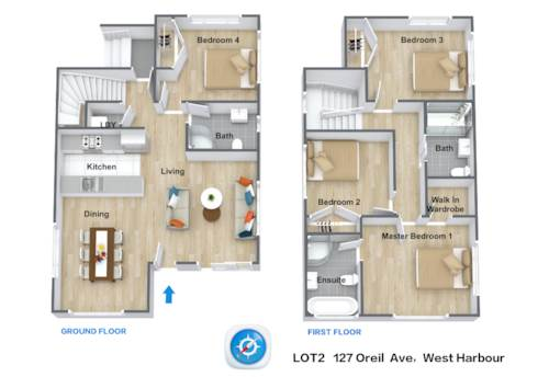 West Harbour, 4 bedrooms,3 bathrooms/toilets,freestanding TURN KEY package, Property ID: 803843 | Barfoot & Thompson