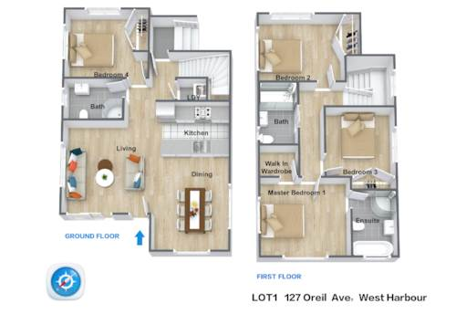 West Harbour, Turn Package - Unique Design & FREESTANDING Family home, Property ID: 803839 | Barfoot & Thompson