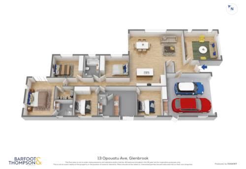 Glenbrook, Fab Five Bedroom Home, Property ID: 807600 | Barfoot & Thompson