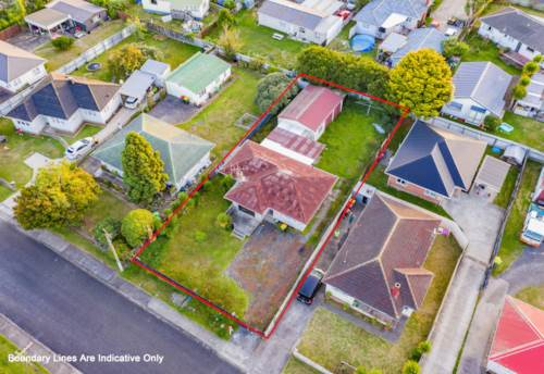 Papakura, 716m2 site with 5 Townhouses RC application, Property ID: 807410 | Barfoot & Thompson