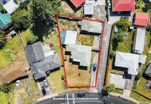 Manurewa, Great Potential / Mixed Urban / 857 m² !, Property ID: 807735   Barfoot & Thompson