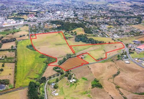 Pukekohe, RARE BLUE CHIP FUTURE URBAN INVESTMENT - 21.53 ha, Property ID: 809039 | Barfoot & Thompson