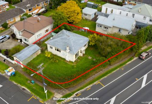Onehunga, Corner Site THAB Zone in Central Location, Property ID: 809606 | Barfoot & Thompson