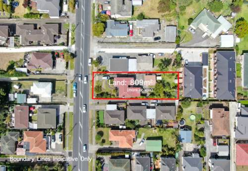 Hill Park, 809m2 Section with Draft For 7 Houses, Property ID: 810071 | Barfoot & Thompson