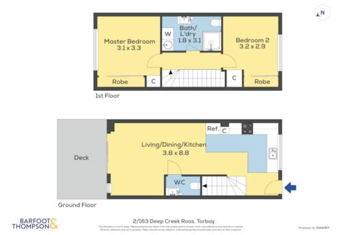 Torbay, MODERN NEW 2 - BEDROOM TOWNHOUSE, Property ID: 810023 | Barfoot & Thompson