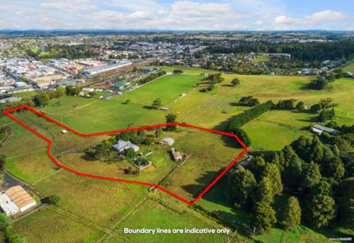 Pukekohe, ZONED PROPOSED LIGHT INDUSTRIAL - 2.65 HA, Property ID: 810301 | Barfoot & Thompson