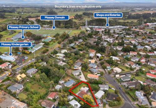 Massey, DEVELOPMENT SITE 911M2 URBAN ZONE WITH RC APPROVED, Property ID: 810703 | Barfoot & Thompson