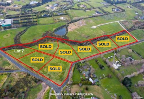 Coatesville, SECTION SELLOUT - Last one left, Property ID: 810835 | Barfoot & Thompson