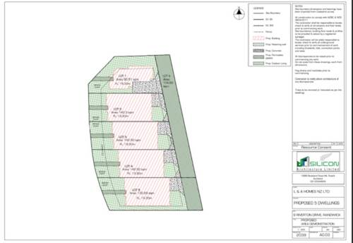 Randwick Park, RC Approved (Before Settlement) for 5 Townhouses, Property ID: 810629 | Barfoot & Thompson