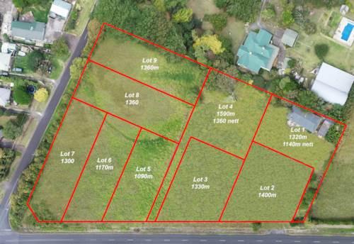 Otaua, 9 Sections for sale, Property ID: 810956 | Barfoot & Thompson
