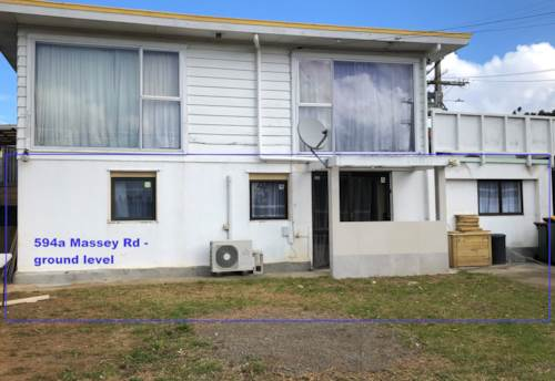 Mangere, Recently renovated home on Massey Rd - Rent includes water, Property ID: 31001753 | Barfoot & Thompson