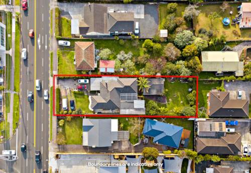 Glen Eden, 1012m2 (approx) Terrace Housing and Apartment Buildings Zone, Property ID: 811459   Barfoot & Thompson
