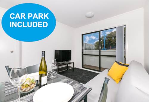 City Centre, One Bedroom on Fanshawe St with carpark  **** INCLUDES WATER****, Property ID: 39001838 | Barfoot & Thompson