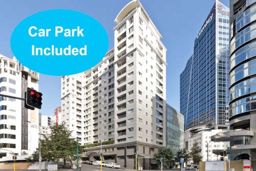 City Centre, Spacious Tower Hill Studio with Car Park, Property ID: 39002248 | Barfoot & Thompson