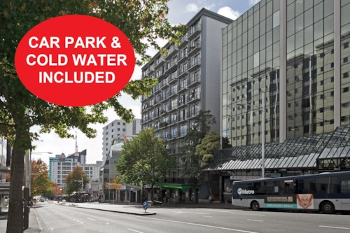 City Centre, One Bedroom with Car Park, Property ID: 39000183 | Barfoot & Thompson